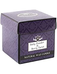 Mystix London | Baby Powder & Berry Twist Scented Candle - Large