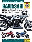 Kawasaki EX500 (GPZ500S) '87 to '08 ER500 (ER-5) '97 to '07 (Haynes Service & Repair Manual) 画像