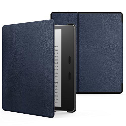 ATiC Kindle Oasis (Newモデル) 2017用開閉式軽量薄型ケース (オートスリープ機能付き) INDIGO