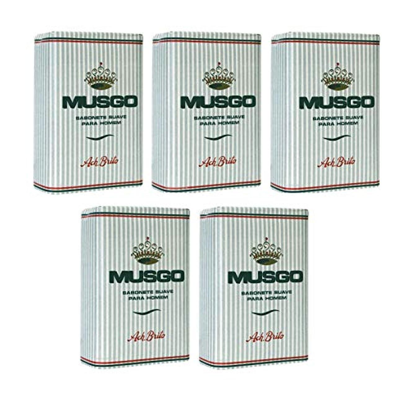 インディカ州管理者Musgo Real Body Soap 「ロイヤルモス」 ボディソープバー 160g x 5個 [並行輸入品]