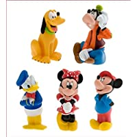 Mickey Mouse and Friends Squeeze Toy Set - 5-Pc by Disney [並行輸入品]