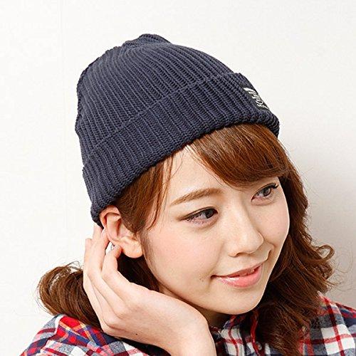 179/WG(179 WG) ネーム付きニット帽【ネイビー/FREE】