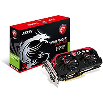 MSI N760GTX Twin Frozr 4S OC V2 グラフィックスボード GeForce GTX 760 搭載 VD5381