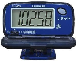 オムロン(OMRON) 歩数計 ヘルスカウンタ ステップス オーシャンブルー HJ-005-A