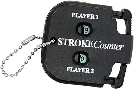 ポータブル ゴルフ スコアカウンター ラウンド 得点 タグ ゴルファーアクセサリー