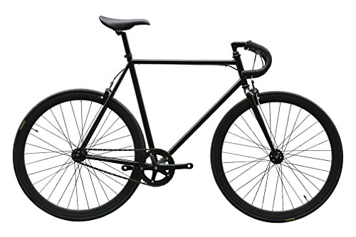 CARTEL BIKES カーテルバイク AVENUE COMPLETE BIKE アベニュー コンプリートバイク (ブラック(BLACK), 56cm)