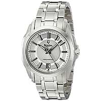 Bulova Men's 96B130 Precisionist Longwood Stainless-Steel Bracelet Watch [並行輸入品]