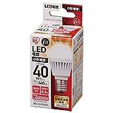 アイリスオーヤマ LED電球 E17口金 40W形相当 電球色 下方向タイプ 密閉形器具対応 LDA4L-H-E17-4T1