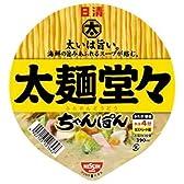 日清 太麺堂々ちゃんぽん 94g×12個