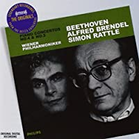 Piano Concertos 4 & 5 by BRENDEL / VIENNA PHIL ORCH / RATTLE (2008-11-18)