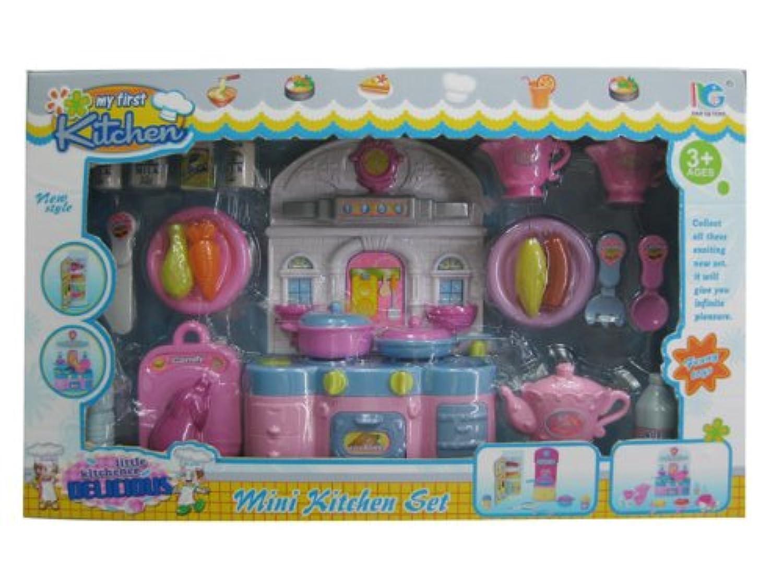 WeGlow International My First Mini Kitchen Set by Virginia Toy [並行輸入品]