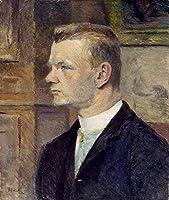Henri de Toulouse-Lautrec - フレデリックWENZ Frederick Wenz 油彩 キャンバス 木枠なし 50X60 cm - 人物 絵画 複製画 印刷 美術品 壁掛け