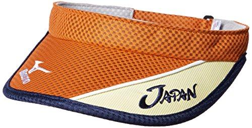 (ミズノ)MIZUNO テニスウエア JAPAN バイザー 62JW7X02[ユニセックス]