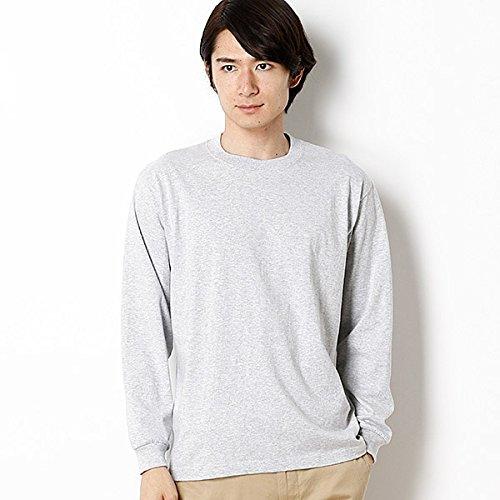 ヘインズ(Hanes) ヘインズ ビーフィーロングスリーブTシャツ【060ヘザーグレー/M】