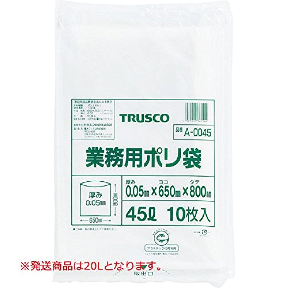 間欠バスケットボール乙女TRUSCO 業務用ポリ袋 厚み0.05