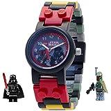 [レゴ ウォッチ] LEGO WATCH 腕時計 スターウォーズ ダースベイダー & ボバ フェット フィギュア付き 8020813 [並行輸入品]