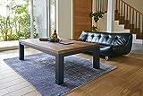 こたつ テーブル 4段階 に 高さ調節 でき様々な スタイル に 対応 可能 モダン で おしゃれ な テーブル リビングコタツ ジェスタ 120