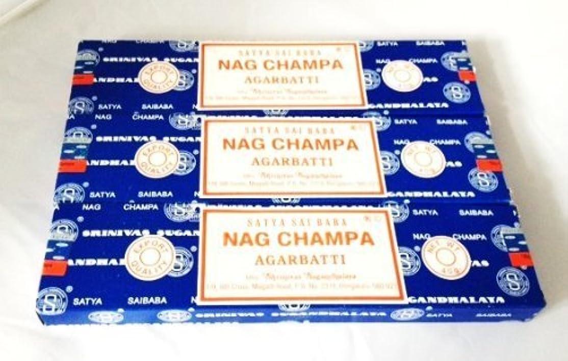 暫定バング接続されたSatya Nag Champa Incense Sticks 40 Gram 3 Pack by Satya [並行輸入品]