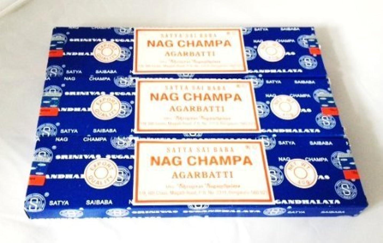 Satya Nag Champa Incense Sticks 40 Gram 3 Pack by Satya [並行輸入品]