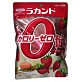 Amazon.co.jpラカント カロリーゼロ飴 いちご味