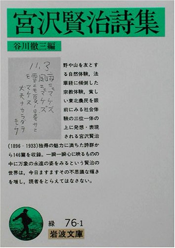 宮沢賢治詩集 (岩波文庫)の詳細を見る