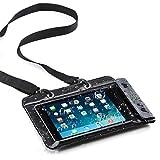 サンワダイレクト iPad mini 4 / mini 3 Nexus7 防水ケース お風呂 対応 7インチ 汎用 スタンド機能 ストラップ付 200-PDA126