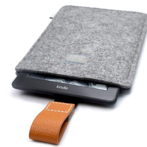 Inateck Kindle paperwhite用ケース 保護袋 封筒型ポケットスリーブ マイクロファイバーケース