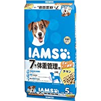 アイムス 7歳以上用 体重管理用 チキン 小粒 5kg×2個【まとめ買い】