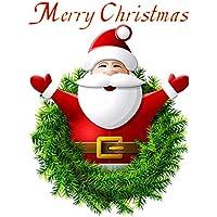 YideaHome ウォールステッカー 壁紙 サンタクロース クリスマス 部屋 店舗装飾 剥がせる パーティー グッズ 装飾