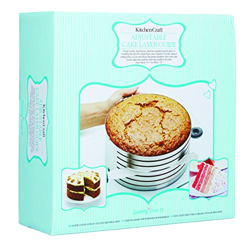 Sweetly Does It Stainless Steel Cake Slicing Guide 24cm-30cm