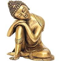 Thinking Buddha – 真鍮Statue