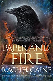 Paper and Fire (The Great Library Book 2) by [Caine, Rachel]