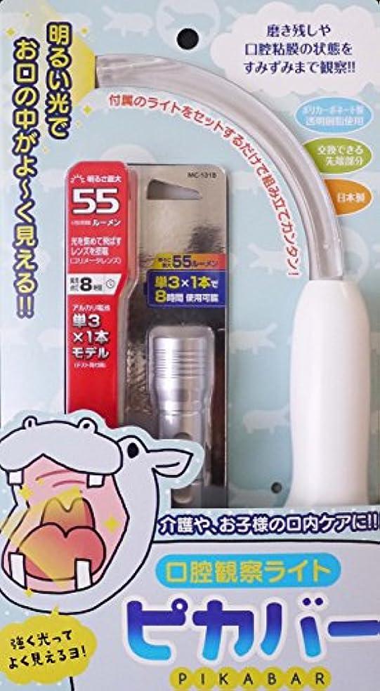 コンテンポラリー放射能禁じる口腔観察ライト ピカバー
