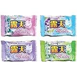 薬用発泡入浴剤 露天ミルキー 4種×3 12個