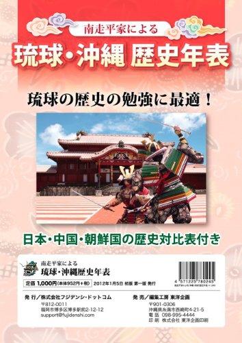 南走平家による琉球・沖縄歴史年表