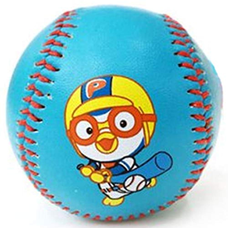 [ポロロ] Pororo 子供の安全野球ボール2個セット, ブルー [並行輸入品]