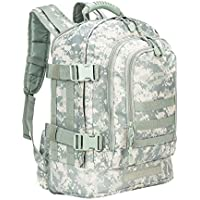 RXARMY 40L - 64 L Outdoor 3 Day Expandable Tactical Backpack Military Sport Camping Hiking Trekking Bag School Travel Gym Carrier