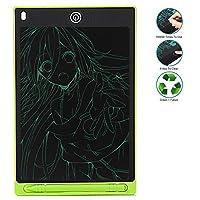書くタブレットlcd 12インチ描画タブレットグラフィックポータブルlcd電子書くタブレットデジタル手書きライトボックスパッド用キッズスタディ,Green,8.5in