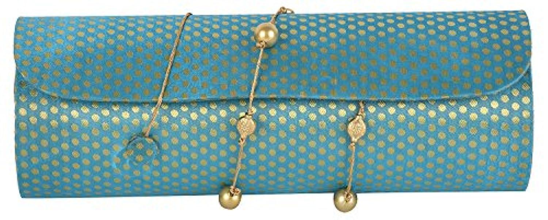Anas Embroidery レディース US サイズ: Free Size カラー: ブルー