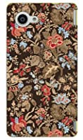 SECOND SKIN SINDEE 「Nooma Flower (ブラウン)」 / for AQUOS Compact SH-02H/docomo DSH02H-ABWH-193-K620