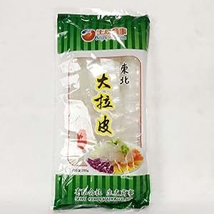 東北大拉皮 ダーラーピー 寛粉皮 板状 夏の冷たい料理に 中華料理・中華食材 200g