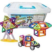 磁石ブロック 78ピース 石積み木 想像力を育てる赤ちゃん知育玩具