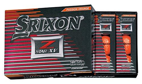 DUNLOP(ダンロップ) ゴルフボール SRIXON Z-STAR XV ゴルフボール 2017年モデル 1ダース(12個入り)   プレミアムパッションオレンジ