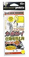 がまかつ(Gamakatsu) 糸付ナノ船カレイ仕掛用替え鈎(ナノスムースコート) FR-226 14-5