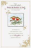妹& brother-in-lawロビンクリスマスグリーティングカード