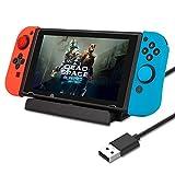 Nintendo Switch 充電スタンド ニンテンドースイッチ 充電器 Type-C 充電スタンド 充電クレードル チャージャー スタンド by Yoofor