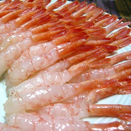 甘エビ 150尾 尾付きむき甘エビ 刺身 生食 寿司 冷凍 海老 むき身