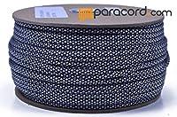 Boredパラコードブランド550タイプIIIパラコード–シルバーダイヤモンド–250フィートスプール
