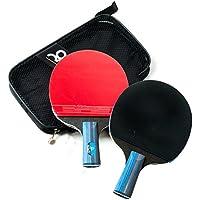 BEATON JAPAN 卓球ラケット 2本セット シェークハンド ペンホルダー ケース付き