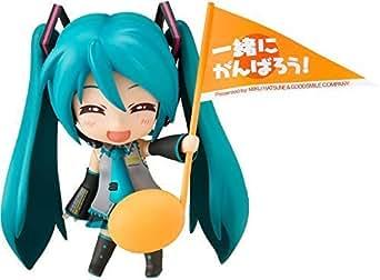 ねんどろいど 初音ミク 応援ver. 約100mm (ノンスケール) ABS & PVC製 塗装済み 可動フィギュア (Cheerful JAPAN限定)